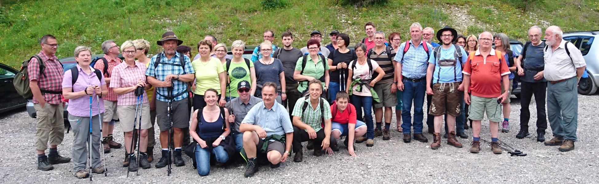 Vereinsausflug Juni 2016 ins Lechtal (Tirol)
